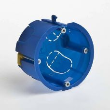 Коробка установочная для СП D65х40 мм, синяя, гипсокартон, IP20, Tyco, арт. 10170, RUVinil