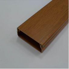 Кабель канал 16х16 мм, темный орех 3D, арт. 50.01.003.0003, T.plast