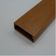 Кабель канал 25х16 мм, темный орех 3D, арт. 50.01.003.0005, T.plast