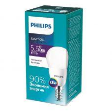 Лампа светодиодная ESSLEDLustre 5.5W (60W) E14 840 P45NDFR RCA 4000К шар 929001960207 Philips
