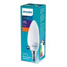 Лампа светодиодная ESSLEDCandle 8W (90W) E14 827 B38NDFRRCA 2700К свеча 929001325107 Philips