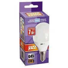 Лампа светодиодная PLED SP G45 7W E14 5000K шар 1027870 2 JazzWay