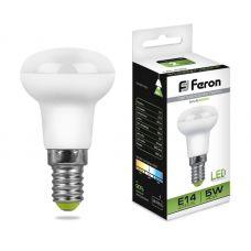 Лампа светодиодная LB 439 E14 5W 4000K R39 грибок 400Лм 25517 FERON