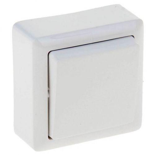 Выключатель 1 кл, ОУ, 6 А, 250 В, белый, ХИТ, арт. VA16 131 B/ВА16 131 б, Schneider Electric