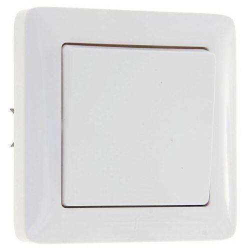 Выключатель 1 кл, СУ, 6 А, 250 В, белый, ХИТ, арт. VS16 133 B/ВС16 133 б, Schneider Electric