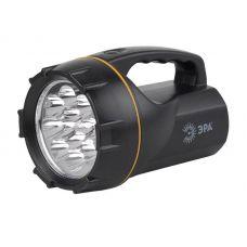 Фонарь аккумуляторный ЭРА FA12M, 12 LED, ЗУ 220 В, черный, пластик