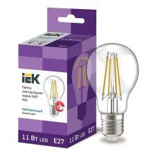 Лампа светодиодная IEK серия 360° A60 шар 11Вт 4000К E27 230В прозрачная LLF A60 11 230 40 E27 CL