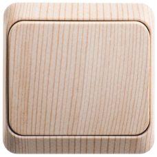 Выключатель 1 клавишный, ОУ, 10 АХ, сосна, ЭТЮД, арт. BA10 001D, Schneider Electric