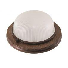 Светильник для бани/сауны НПБ1301 круглый цвет венге IP54 SQ0303 0431 TDM Electric