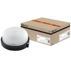 Светильник НПБ1301 круг без решетки черный 60Вт IP54 SQ0303 0031 TDM Electric