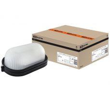 Светильник НПБ1401 овал без решетки черный 60Вт IP54 SQ0303 0035 TDM Electric
