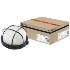 Светильник НПБ1102 круг с решеткой черный 100Вт IP54 SQ0303 0027 TDM Electric