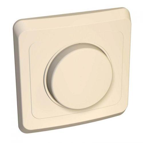 Светорегулятор (диммер) поворотный, СУ, 300 Вт, кремовый, ЭТЮД, арт. DC 001K, Schneider Electric