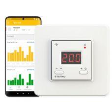 Терморегулятор Terneo ax, c Wi Fi управлением, термозащита, 3000 ВА, 16 А