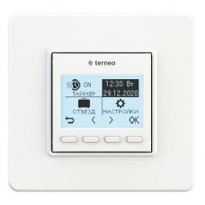 Терморегулятор Terneo pro, программируемый, термозащита, 3000 ВА, 16 А