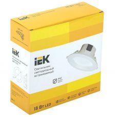 Светильник светодиодный ДВО 1703 18Вт 6500К IP40 LDVO0 1703 18 6500 K01 IEK