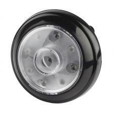 Фонарь универсальный ЭРА L40, 9 LED, 3xAAA, 2 режима, черный, пластик