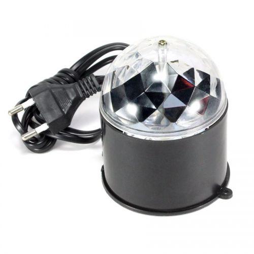 Светильник проектор КОСМОС KOCNL EL141, RGB, 3 Вт, черный, подвеш./ставиться