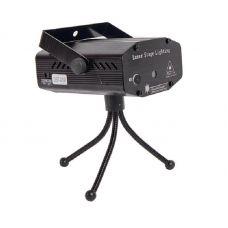 Проектор лазерный B52 GST 019 до 65 м2, 4 эффекта, 2 цвета, метал. корпус