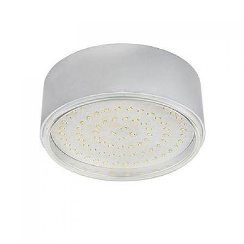 РАСПРОДАЖА Светильник Ecola GX70 N50, накладной, легкий Серебро, арт. FS70NFECD