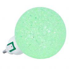 Ночник светодиодный NLA 10 BG ШАР зелёный с выключателем, 230В, IN HOME
