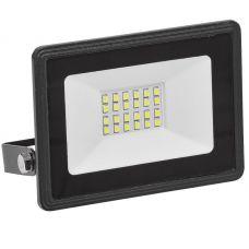 Прожектор светодиодный СДО 06 20 4000К IP65, черный, LPDO601 20 40 K02, IEK