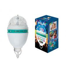 Светодиодный светильник проектор серии «Диско» ULI Q303 2,5W/RGB WHITE