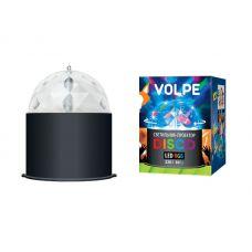 Светодиодный светильник проектор серии «Диско» ULI Q302 03W/RGB BLACK