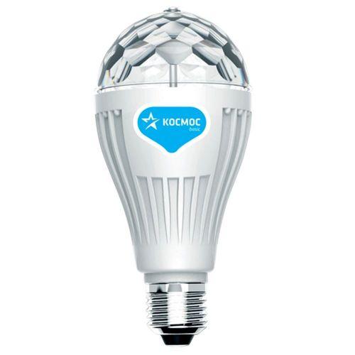 Светильник проектор КОСМОС KOCNL EL142, 3 Вт, Е27, разноцветный, вращающийся