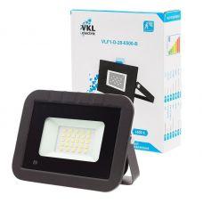 Прожектор светодиодный 20Вт 6500К с датчиком движения VLF1 D 20 6500 B IP65 черный VKL Electric