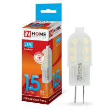 Лампа светодиодная IN HOME LED JC VC G4 12V 1.5W 4000K 135Лм 4690612019758