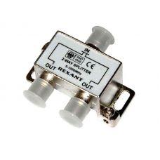 Делитель ТV х 2 под F разъём 5 1000 МГц, 05 6001, Rexant