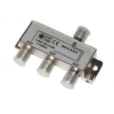 Делитель ТV х 3 под F разъём 5 1000 МГц, 05 6002, Rexant