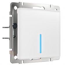 Сенсорный выключатель одноклавишный с подсветкой (белый) W4510101