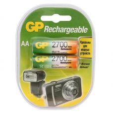 Аккумулятор GP AA/HR6, 2700 mAh, уп/2 шт, 270AAHC