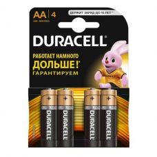 Батарейка Duracell Базис AA/LR6, MN1500, уп/4 шт