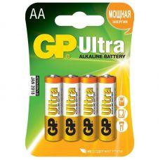 Батарейка GP Ultra AA/LR6,  уп/4 шт, 15AU LR6/316 BL4