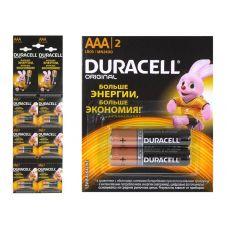 Батарейка Duracell Базис AAA/LR03, MN2400, 2BL BASIC 2*6, уп/2 шт