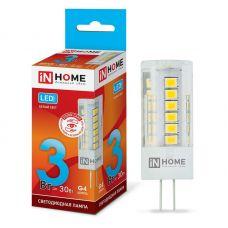 Лампа светодиодная IN HOME LED JC VC G4 12V 3W 4000K 270Лм 4690612019796