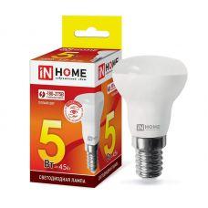 Лампа светодиодная LED R39 VC 5Вт 3000К Е14 410Лм 4690612030838 IN HOME
