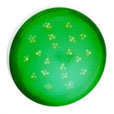 Лампа светодиодная GX53 8Вт зеленого свечения матовое стекло 28x74 T5TG80ELC Ecola