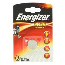 Батарейка Energizer Lithium CR2025, уп/1 шт