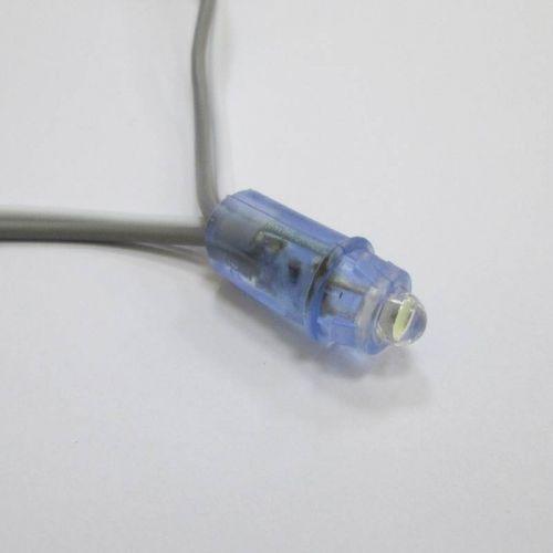 Пиксельный модуль 1 LED, диаметр модуля 9 мм, 0,1 Вт, DC 5V, IP67, WHITE