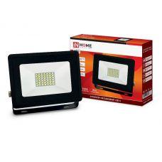 Прожектор светодиодный 30Вт 6500К СДО 8 IP65 4690612030036 IN HOME