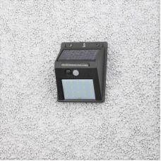 Фасадный светильник ERAFS064 04 с датчиком движения, на солнечной батарее, 20LED, 60 lm, арт. Б0044244, ЭРА
