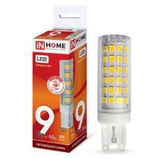 Лампа светодиодная IN HOME LED JCD VC G9 230V 9W 4000K 810Лм 4690612019932