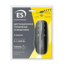 Пульт управления светом Y8, 1 приёмник, 4 канала*1000 Вт, таймер, ELEKTROSTANDARD
