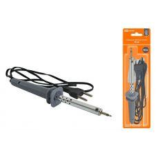 Паяльник электрический ПЭ 40 с жалом типа конус, в комплекте подставка, 40 Вт, Гранит, SQ1025 0201, TDM Electric