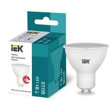 Лампа светодиодная IEK PAR16 софит 7Вт 4000К GU10 230В 675Лм LLE PAR16 7 230 40 GU10
