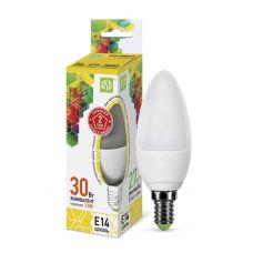 Лампа LED СВЕЧА standard, 3.5 Вт, 3000 К, Е14, 320 лм, матовая, 230 В, ASD